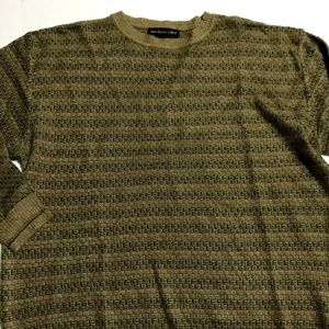 NORTHERN ISLES Mens Sweater Light Weight Brown